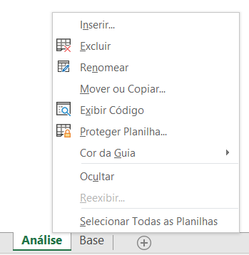 Proteger Planilha Excel